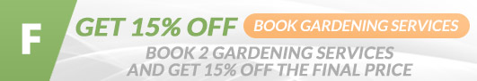 London offer gardening for 2 properties and get 15 off the total price